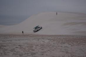 Dunes de sable à Lancelin