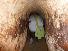Osez parcourir les 100m du tunnel