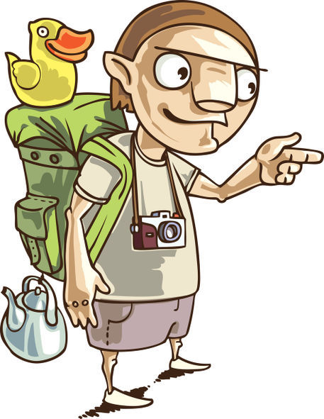 The backpacker.
