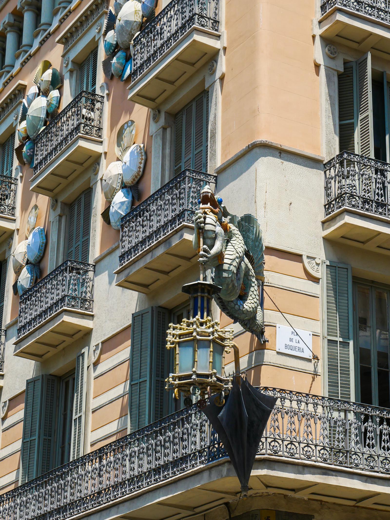 Boqueria Rambla Barcelone