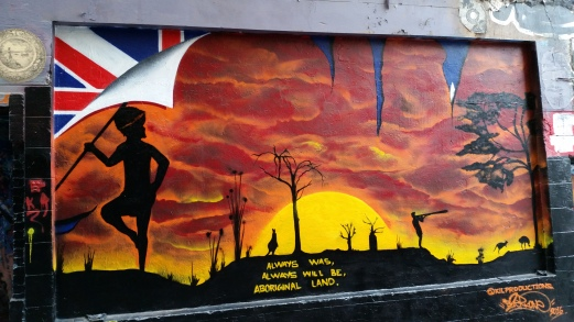 Street art à Mebourne