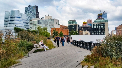High line à New York