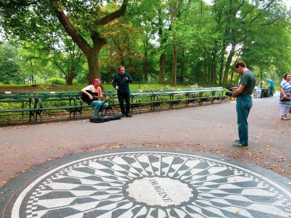 Mémorial John Lennon Central Parc New York