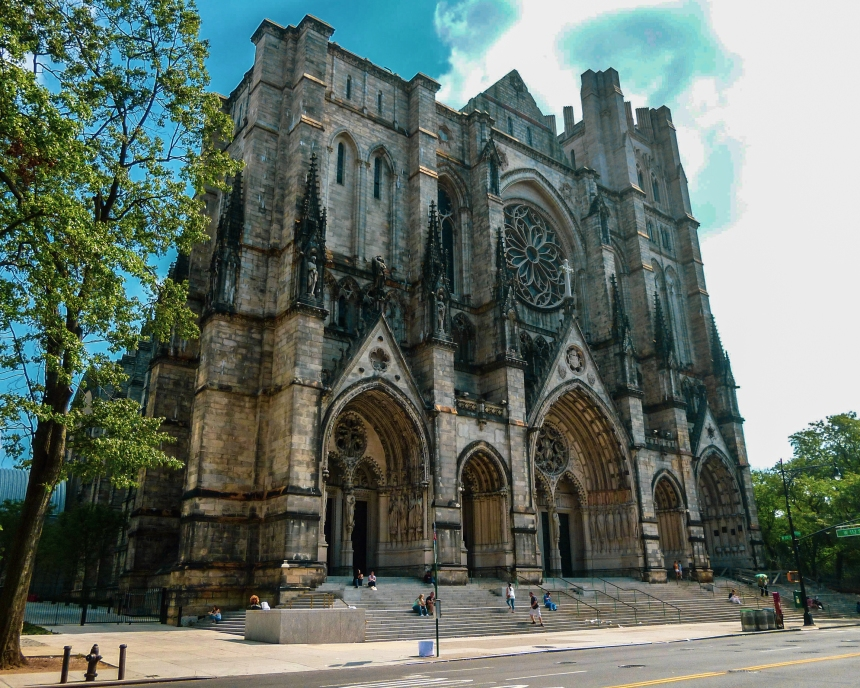 Cathédrale St John the Divine, New York