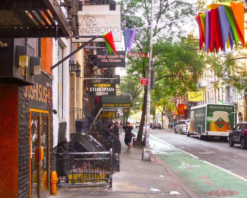 Quartier typique de Greenwich Village