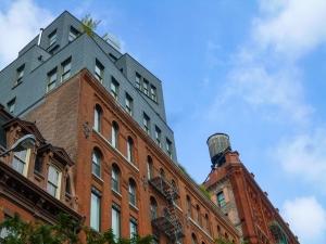 Les citernes sur les toits de Manhattan