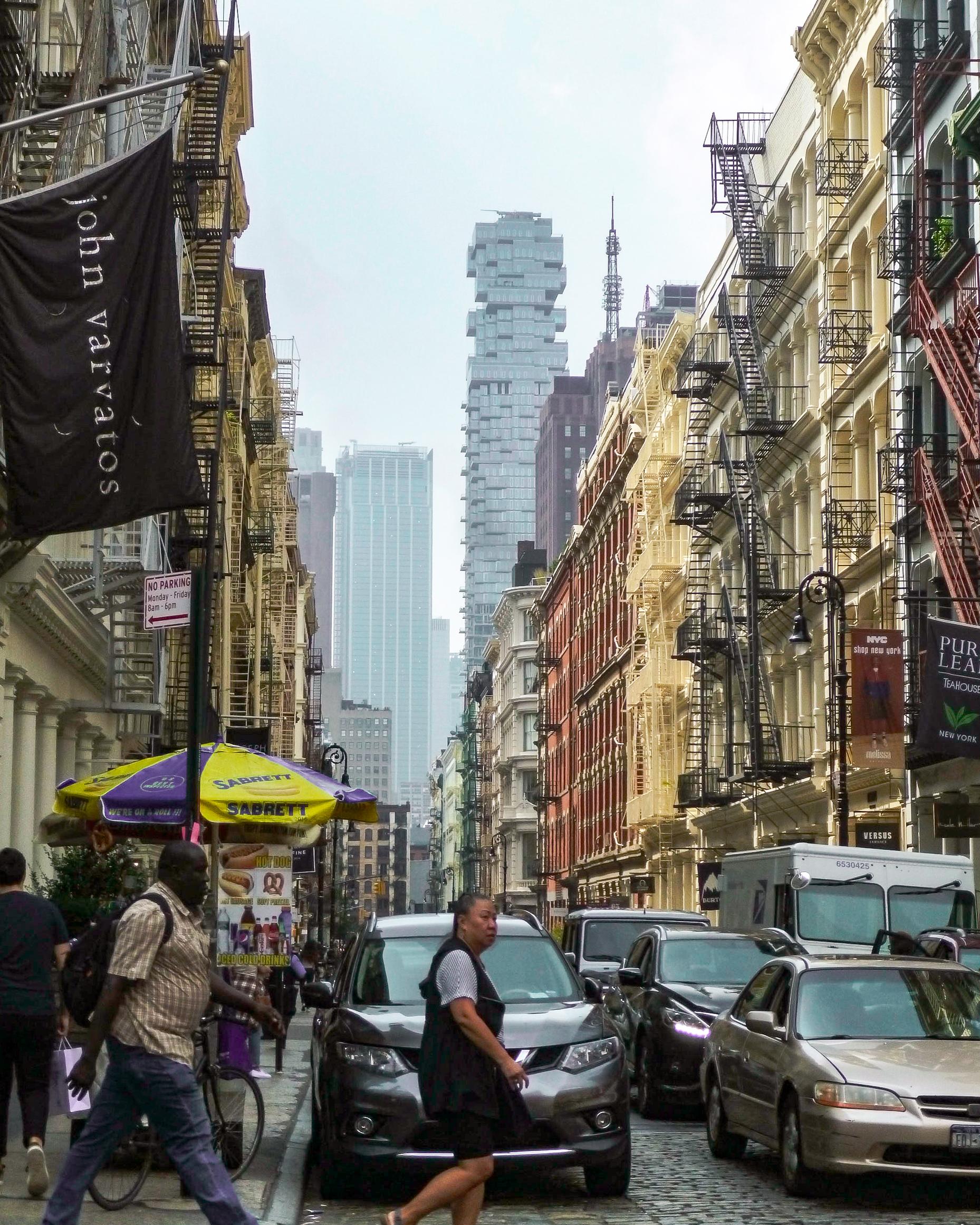 balade dans les rues de Manhattan