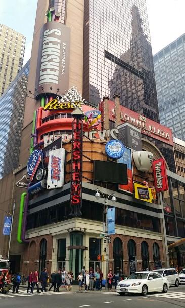 Reese's store à time Square à Manhattan