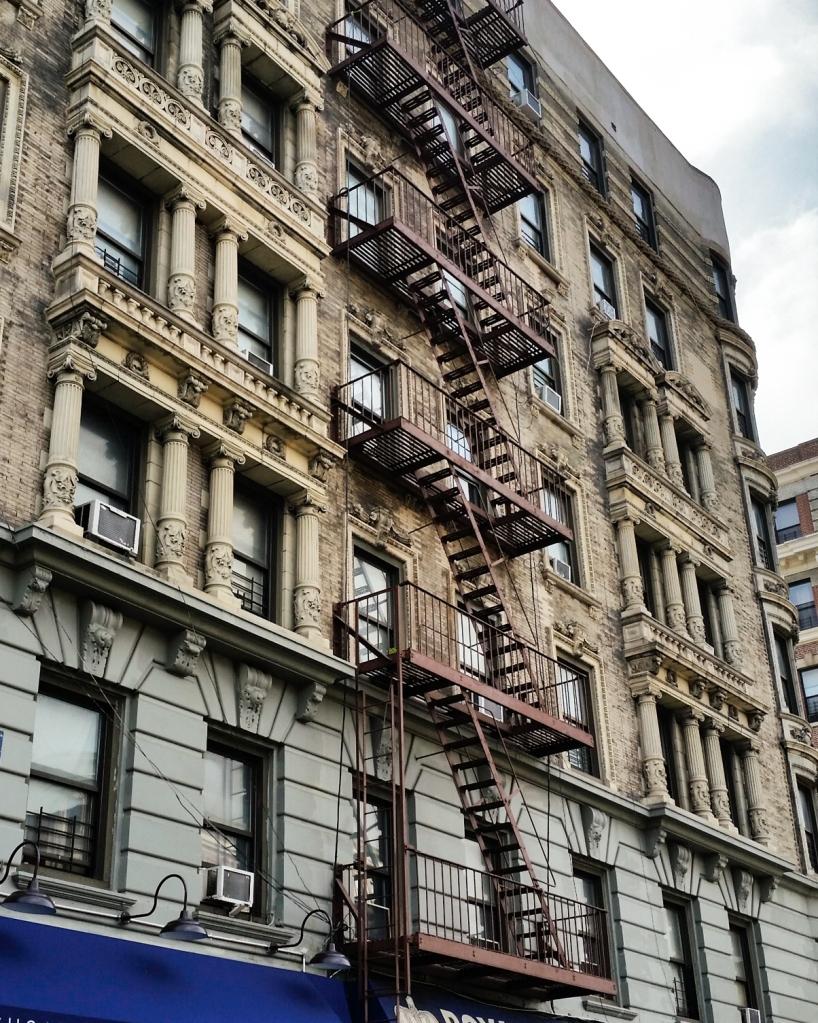 Façade typique de Manhattan