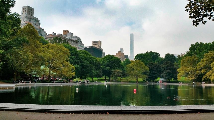 Vue de Manhattan depuis Central parc