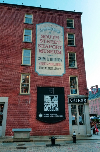 South Street Sea Port, New York