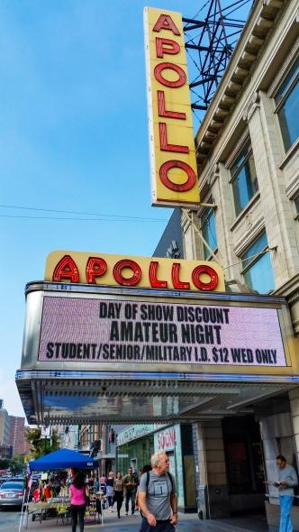 L'Apollo Theatre à Harlem, New York